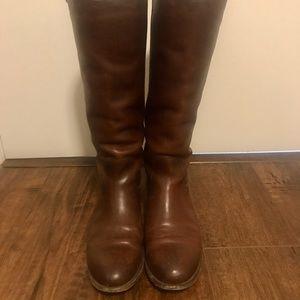 Frye Melissa Button 2 Wide Calf Boots